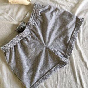 Champion Gray Cotton Shorts
